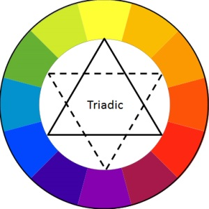 Triadic Color Palette
