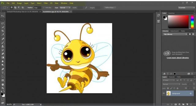 Photoshop Bee