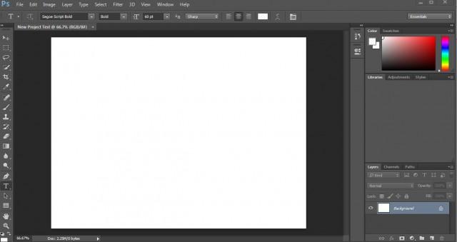 Photoshop's Work Area