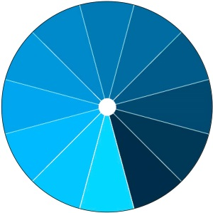 Monochromatic Color Wheel